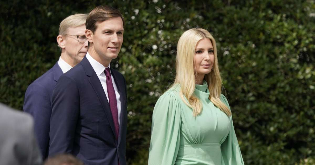 Jared Kushner and Ivanka Trump threaten to sue Lincoln Project